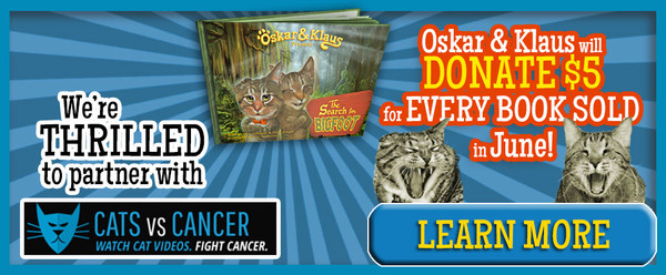 Oskar & Klaus CatsVsCancer Partnership