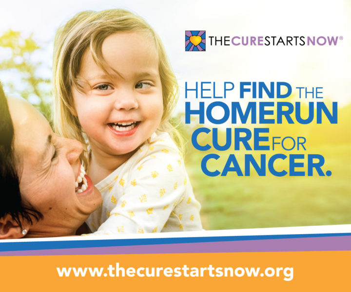 August/September's Charitable Cause: The Cure Starts Now Foundation