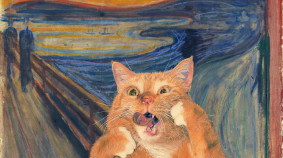 Zarathustra, The Time Traveling Cat!